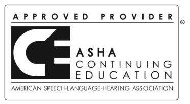 ASHA Approved Provider Logo
